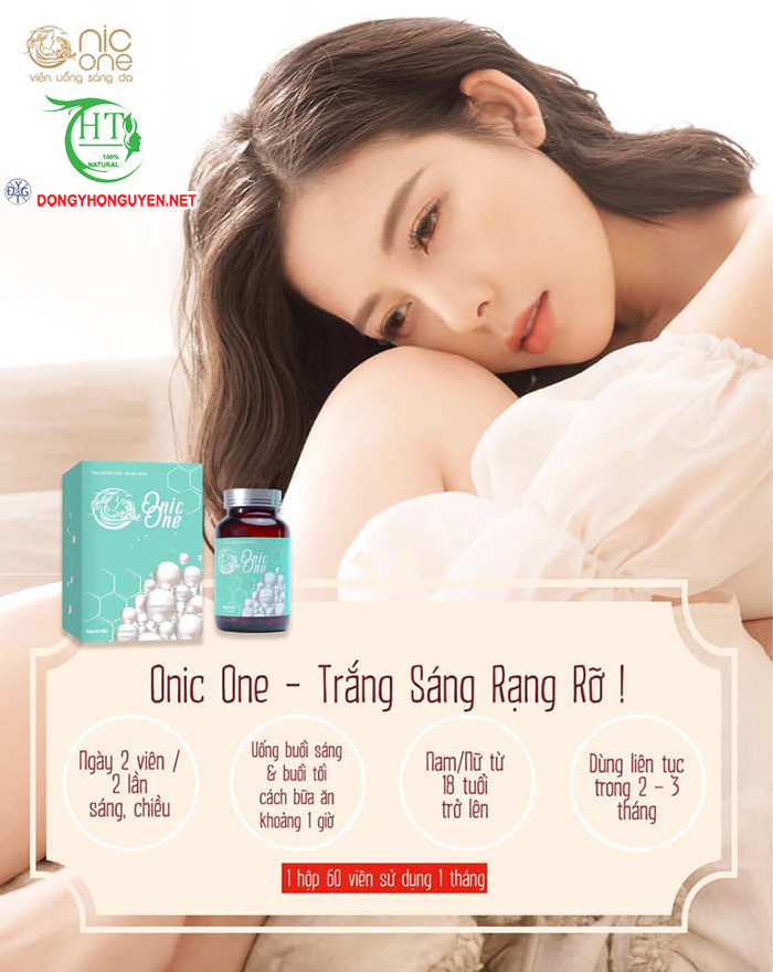 Cách sử dụng viên uống Onic One